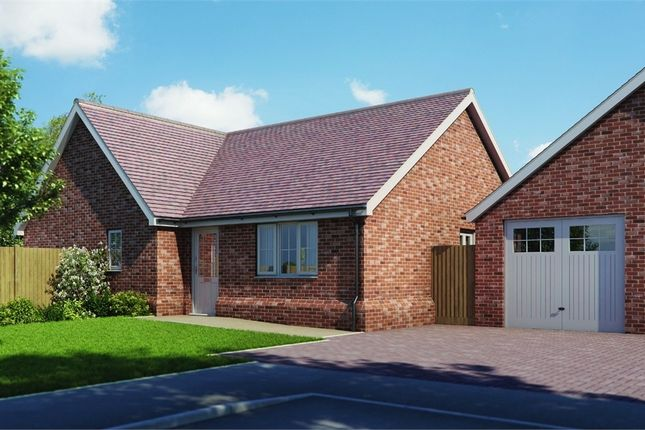 Thumbnail Detached bungalow for sale in Plot 6 'old Stables', Walton Road, Kirby-Le-Soken, Frinton-On-Sea, Essex