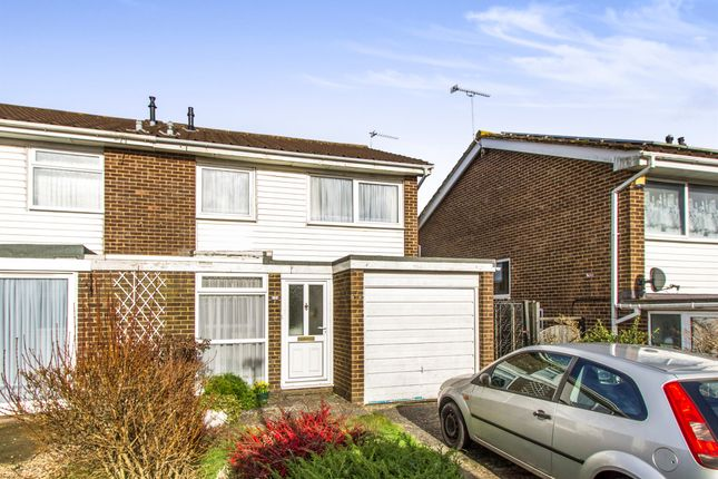 Thumbnail Semi-detached house for sale in Runnymede Avenue, Bournemouth