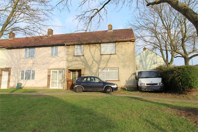 Thumbnail End terrace house for sale in Featherby Road, Twydall, Kent.