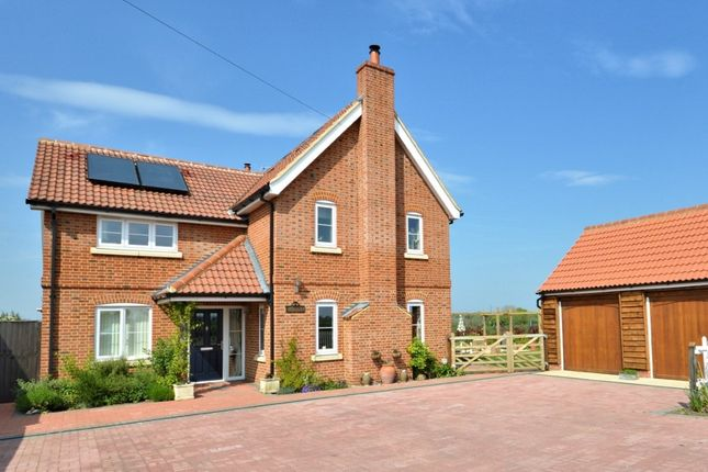 Thumbnail Detached house for sale in Dereham Road, Garvestone, Norwich