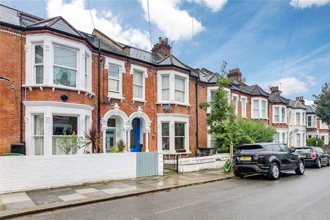 Thumbnail Flat for sale in Carminia Road, London