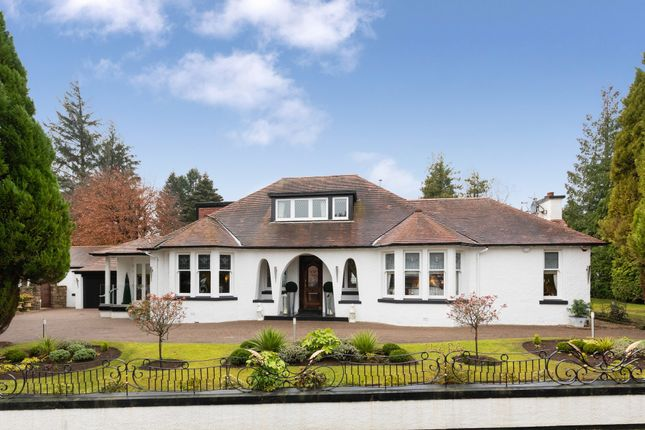 Thumbnail Detached bungalow for sale in Windyridge, Methven Road, Whitecraigs
