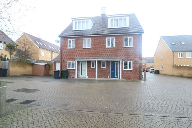Thumbnail Semi-detached house to rent in Roderick Kalberer Place, Ashford