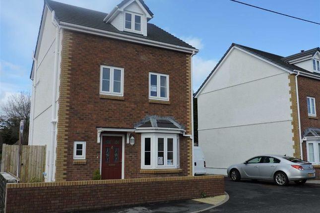Thumbnail Detached house for sale in Bankydderwen, Derwydd Road, Llandybie, Ammanford