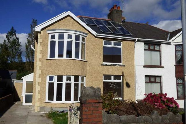 Thumbnail Semi-detached house to rent in Crymlyn Road, Skewen, Neath .