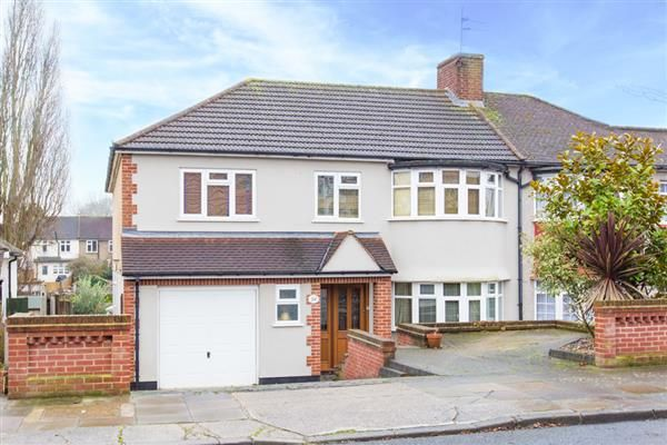 Thumbnail Semi-detached house for sale in Albany Close, Bexley