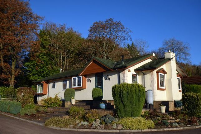 Thumbnail Mobile/park home for sale in Clanna, Alvington, Lydney
