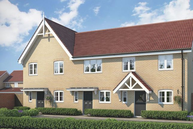Thumbnail Terraced house for sale in The Appleby At Fornham Place, Marham Park, Bury St Edmunds