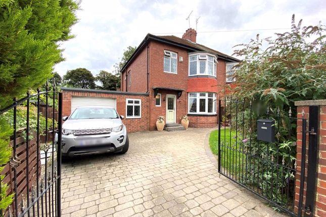 3 bed semi-detached house for sale in Nilverton Avenue, Ashbrooke, Sunderland SR2