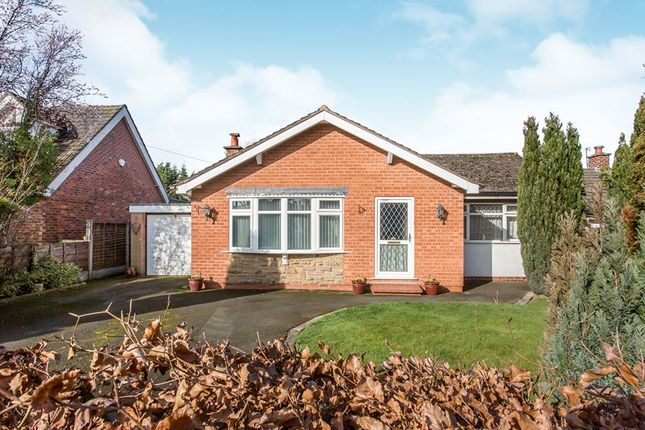 Thumbnail Bungalow for sale in Common Lane, Lach Dennis, Northwich, Cheshire