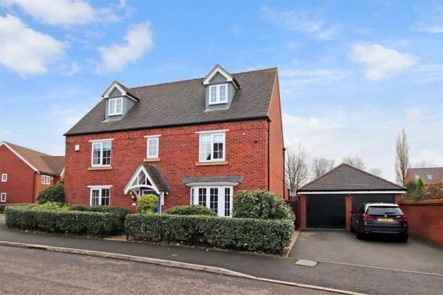 Thumbnail Detached house for sale in Waterford Crescent, Barlaston, Stoke On Trent