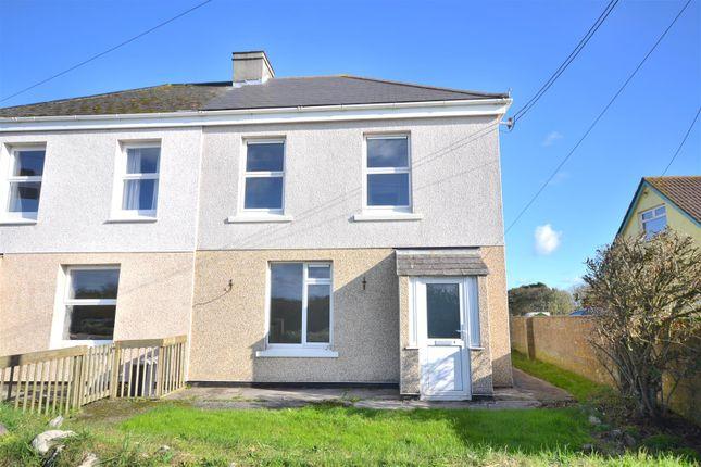 Thumbnail Semi-detached house for sale in Kuggar, Ruan Minor, Helston