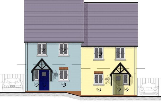 Thumbnail End terrace house for sale in 4 Maes Yr Orsaf (The Cilgerran), Plot 4, Plot 4 Station Road, Narberth
