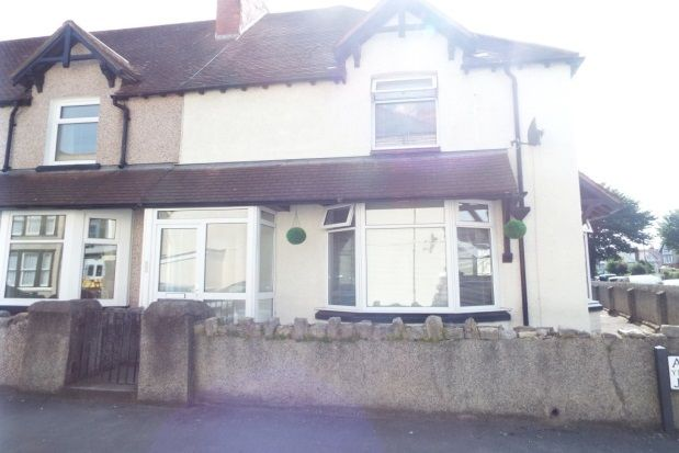 Thumbnail Property to rent in Albion Street, Llandudno