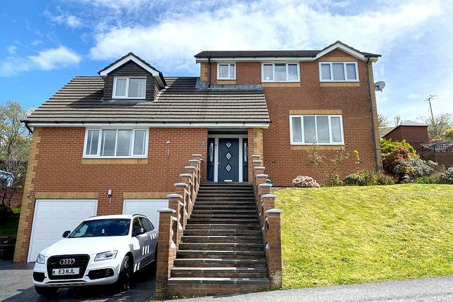 Thumbnail Detached house for sale in Jays Field, Neath, Neath Port Talbot.