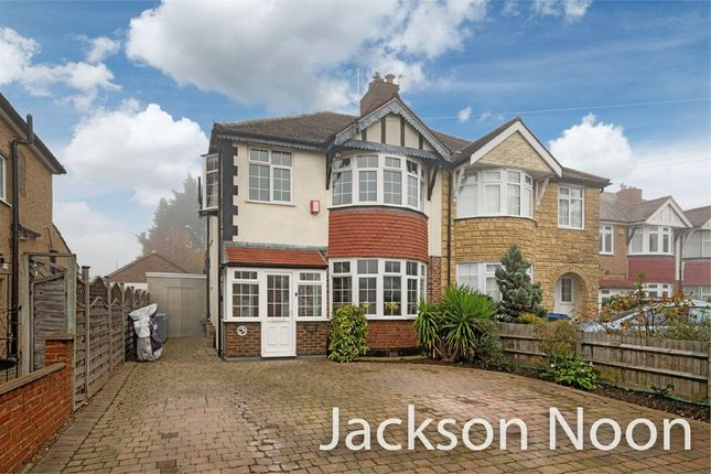 Thumbnail Semi-detached house for sale in Warren Drive South, Tolworth, Surbiton