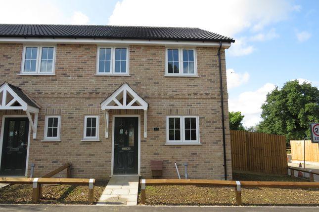 Thumbnail Semi-detached house for sale in Saffron Close, Watton, Thetford