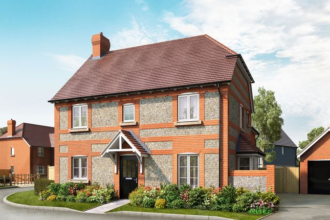 Thumbnail Detached house for sale in School Lane, Broughton, Hampshire