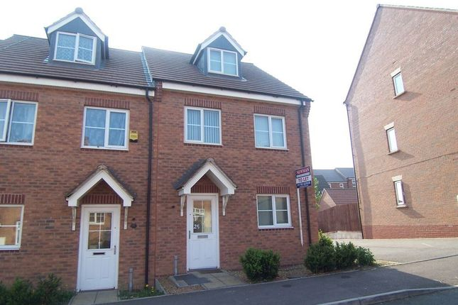 Thumbnail Semi-detached house to rent in Farnborough Avenue, Bilton, Rugby