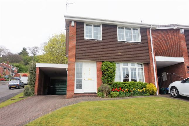 Thumbnail Detached house for sale in Warren Drive, Dudley