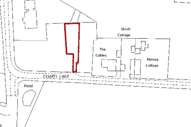 Thumbnail Land for sale in Land On The North Side Of, Chapel Lane, Crockleford Heath, Colchester, Essex