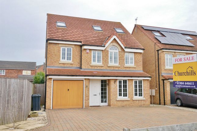 Thumbnail Detached house for sale in Teachers Close, Dringhouses, York
