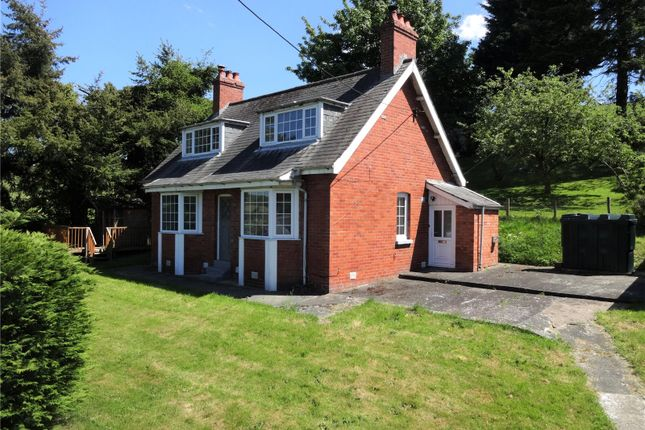 Thumbnail Detached house for sale in Kerry Road, Newtown, Powys