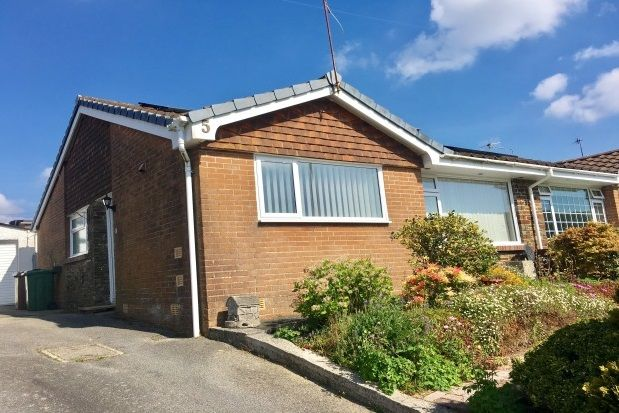 Thumbnail Bungalow to rent in Foxwood Gardens, Plymstock, Plymouth