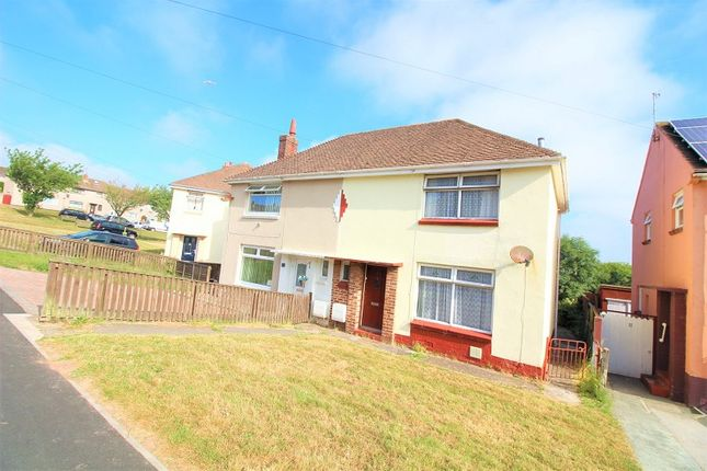 Thumbnail Semi-detached house for sale in Rectory Avenue, Hakin, Milford Haven, Pembrokeshire.