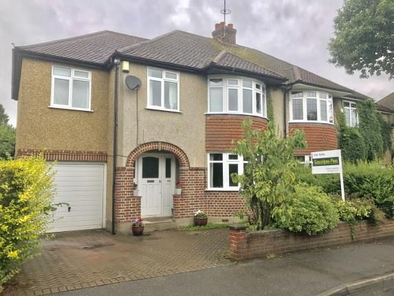 Thumbnail Semi-detached house for sale in Ottershaw, Chertsey, Surrey