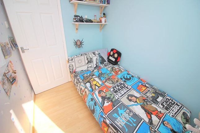 Bedroom Three of Sunnybank Court, Brackla, Bridgend County. CF31