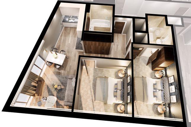 Thumbnail Flat for sale in Merseyside Headquarters 2 Edgar Street Liverpool, 6Ju
