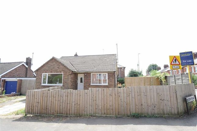 Thumbnail Detached bungalow to rent in Dryden Road, Wellingborough