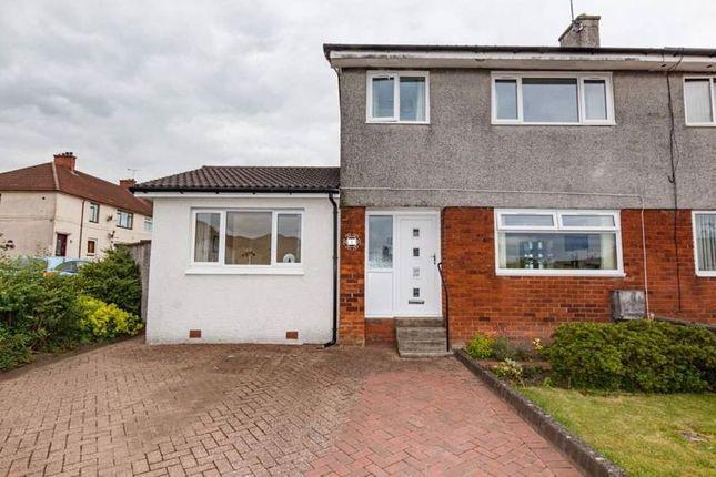 Thumbnail Semi-detached house for sale in Craigton Crescent, Alva