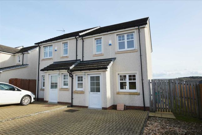 Thumbnail Semi-detached house for sale in Delaney Wynd, Cleland, Motherwell