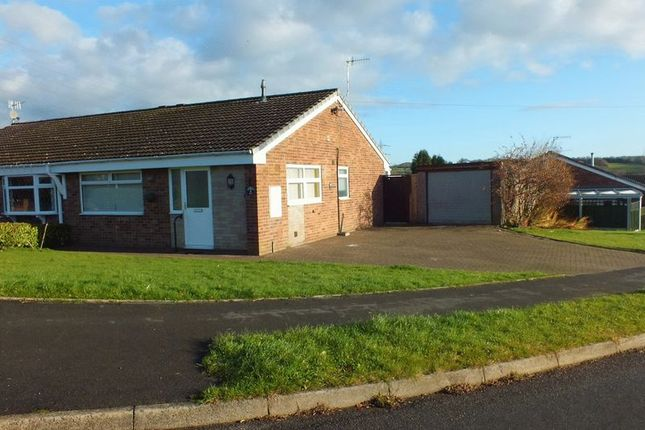 Thumbnail Semi-detached bungalow for sale in Birchover Way, Wedgwood Farm Estate, Fegg Hayes, Stoke-On-Trent