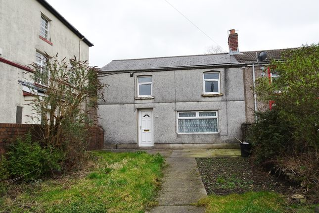 Thumbnail End terrace house for sale in High Street, Rhymney, Tredegar