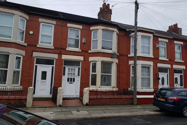 Thumbnail Terraced house to rent in Jonville Road, Aintree, Liverpool, Merseyside