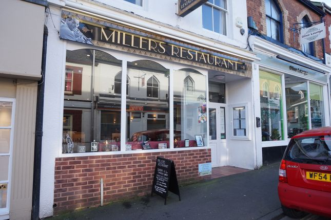 Thumbnail Restaurant/cafe for sale in 3 High Street, Exmouth