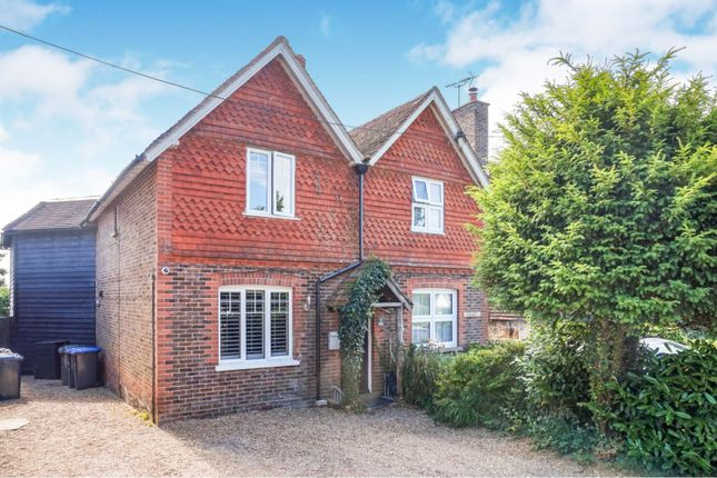 Thumbnail Semi-detached house for sale in Slaugham, Haywards Heath