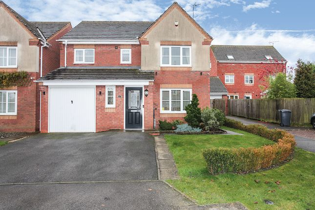 Thumbnail Detached house for sale in Honeysuckle Close, Bedworth, Warwickshire
