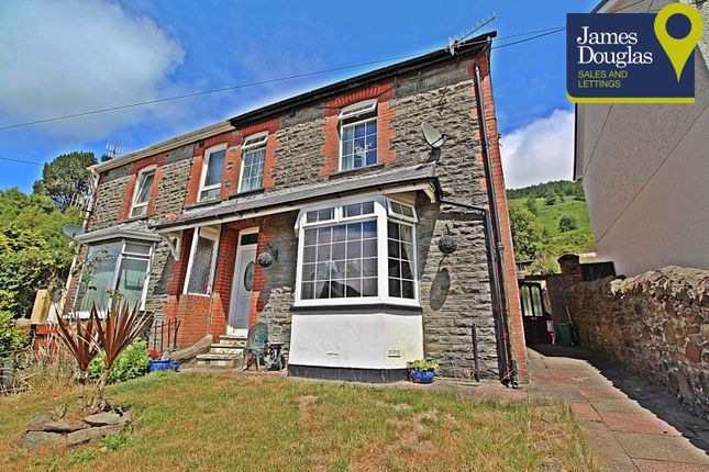 Thumbnail Semi-detached house for sale in St. Stephens Avenue, Pentre, Rhondda Cynon Taff
