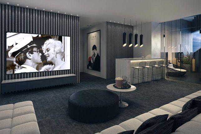 Screening Room of The Madison, 199 To 207 Marsh Wall, Canary Wharf, London E14