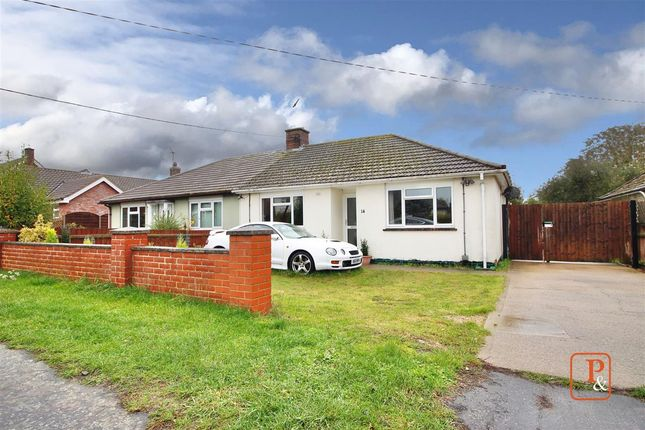 Thumbnail Semi-detached bungalow for sale in Catherine Road, Woodbridge
