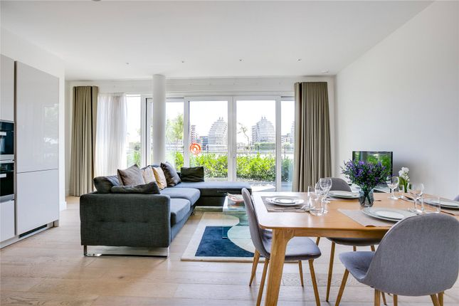 Thumbnail Flat for sale in Riverwalk Apartments, 5 Central Avenue, London