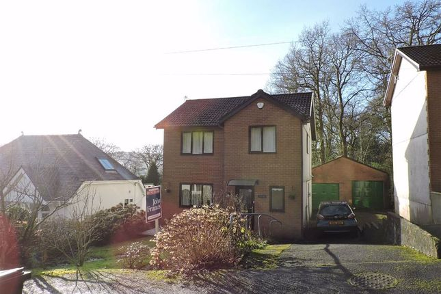Thumbnail Detached house for sale in Coedcae, Pontardawe, Swansea