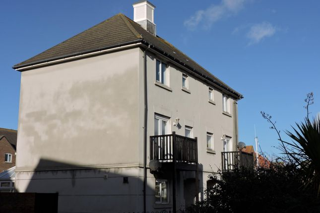 Thumbnail Semi-detached house to rent in Windward Quay, Sovereign Harbour South, Eastbourne