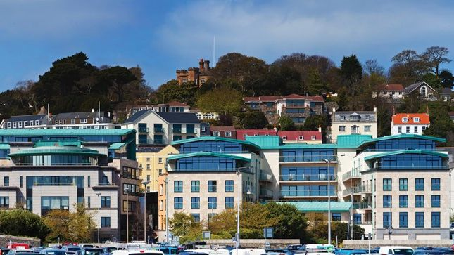 Thumbnail Flat to rent in Hanois House, St. Peter Port, Guernsey