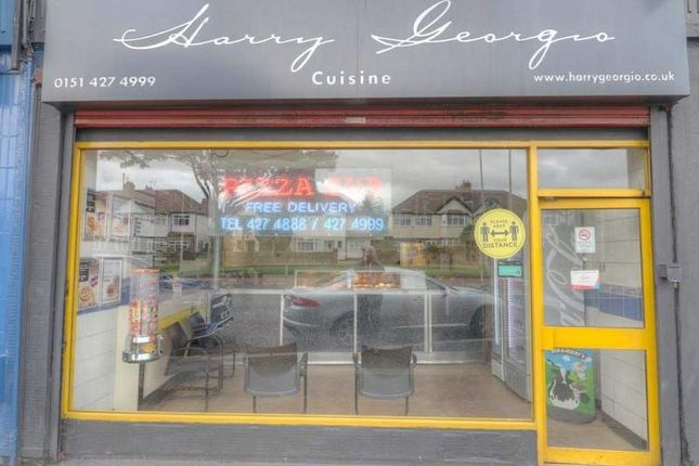 Thumbnail Restaurant/cafe for sale in Aigburth Road, Liverpool
