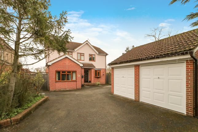 Thumbnail Detached house for sale in Station Approach, North Fambridge, Chelmsford